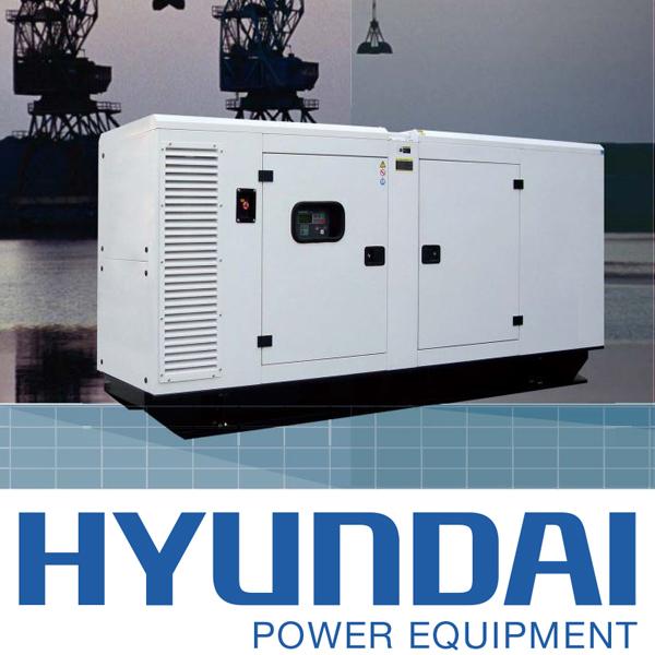 máy phát điện Hyundai 240kva - 265kva