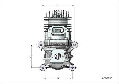 Động cơ máy phát điện chạy xăng