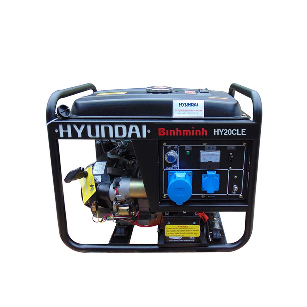 Máy phát điện Hyundai 1.7kw - 1.9kw
