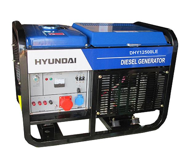 Máy phát điện dân dụng thương hiệu Hyundai